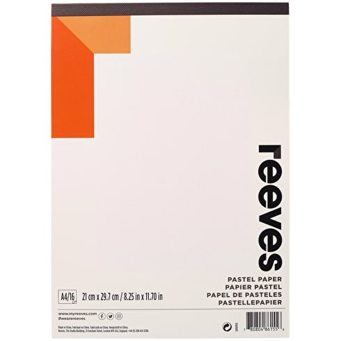 Reeves Pastel Pad 180gsm 16 Sheets A4